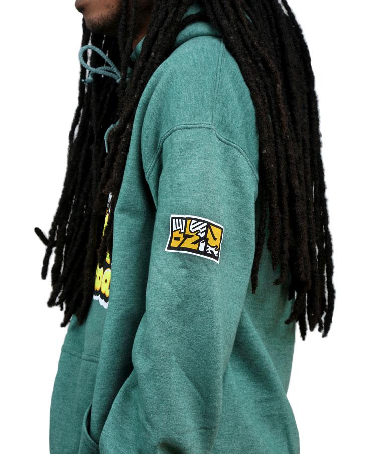 Chester Cheeba Marijuana Blunt Smoking Hoodie Sweatshirt